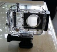 60M /195ft Underwater Waterproof Diving Housing Case for GoPro HERO3+ Hero 4