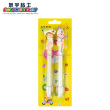Wholesale fimo doctors and nurses series pen a couple of nurse lovers pen ball with blister package for school stationery prize