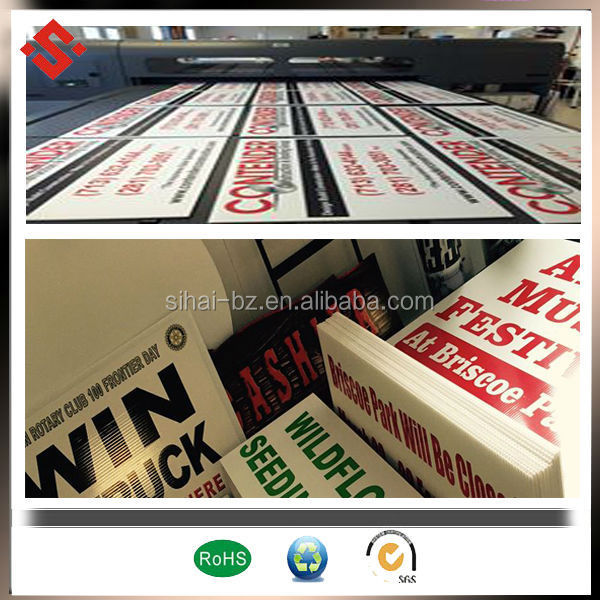 color printing advertising board