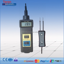 MC-7806 2 in 1 Pin Type Wood Moisture Meter 0 - 50% Temperature Tester