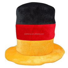 customize Germany flag cup design festival party top hat for oktoberfest QHAT-1862