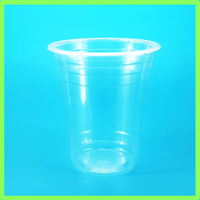 12oz 14oz plastic drinkin cup with dome lid