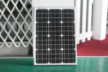 High quality low price elaborate process perfect service Chinese 18V 75W mono solar panel