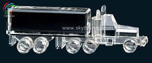 crystal truck model office gifts