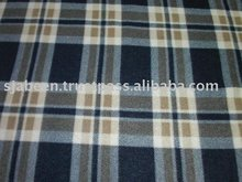 Flannel printed fabric