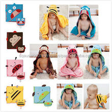New Baby/Toddler Kids Animal Funky Cloth Bath Wrap Hooded Towel Long 87cm