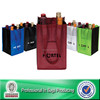 Lead Free Non Woven Custom 6 Bottle Pack Liquor Gift Bag