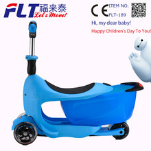 2015 popular selling safety children scooter with smart tracking for parents