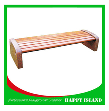 hot new products hotel bench backyard bench made in china