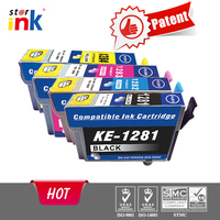 T1281 1282 1283 1284 Ink Cartridge for Epson printer SX125/SX130/S22/SX230 ink cartridges wholesale