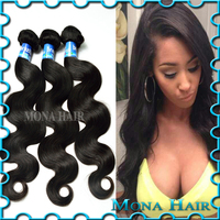 Wet and Wavy Brazilian Remy Hair Bundles, Virgin Hair Weave Bundle Remy Hair