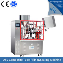 Hot sale soft Tube/ Cosmetic /toothpaste/pharmaceutics tube Filling and Sealing Machine
