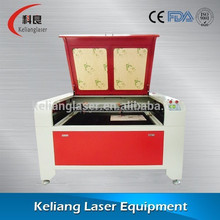 KL-1390 100w / USB Interface laser cutting machine ,laser cut leather
