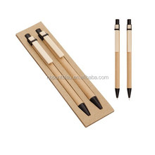 Best selling pen set with paper ball pen and pencil