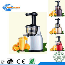 electric plastic healthy slow juicer lemon squeezer pineapple carrot extractor as seen as on tv with AC motor PCTG FREE BPA