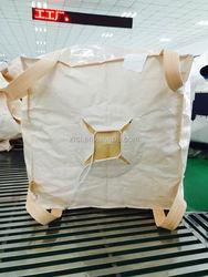 Color printing big bag,pp super sacks,FIBCS,PP bulk bag 1500kg fpr building material / concrete
