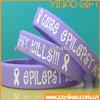 custom slap bracelets/ custom silicone wristbands/ personalized silicone bracelet