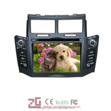 7 inch high quality double din touch screen car stereo GPS for Toyota Yaris 2012