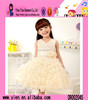 2015 Alibaba China Hot Sale Lace Dance Dress Custom Short V Collar Cheaper Baby Girls Party Dress Design