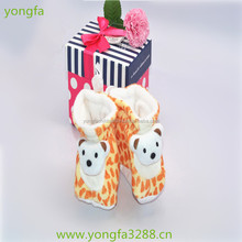 handmade felt happy infant shoes wholesale