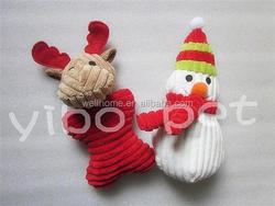 Dog Christmas plush toy Pet toys