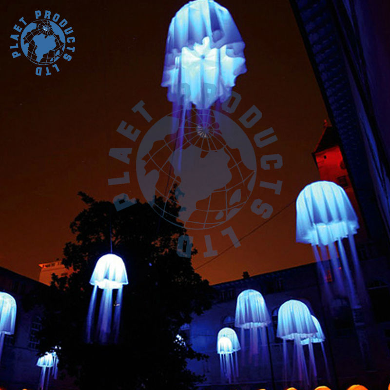 Decoraciones del partido con las medusas inflable( pll10- 045)