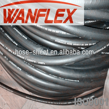 Made in China Wanhe Rubber!high pressure oil resistant steel wire braided hydraulic rubber hose
