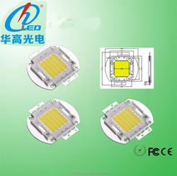 New products made in P.R.C,High bright 120lm/w Epiled genesis bridgelux epistar 100w taiwan epistar chip led with CE&RoHS