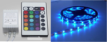 LED Light Strip Kit RGB 5 meters + 44Key Remote + 12V 5A Power Supply