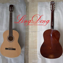 Contemporary professional all solid classical guitar from china