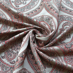 Polyester jacquard curtain with modern design and high density