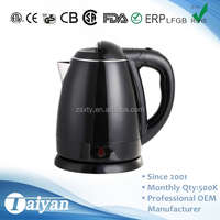 1.2L DE 1261 Hot Sell Electric Kettle Removable Lid