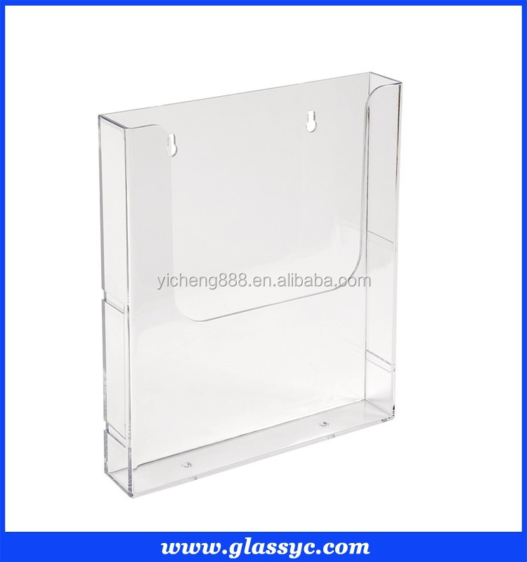 A400a40a40 Clear Acrylic Brochure HolderMagazine Holder Stand Buy Awesome Clear Plastic Magazine Holders