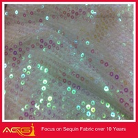 The hot sale top 100 design 100% polyester splendid fancy elegant sequin fabric pepsi fabric