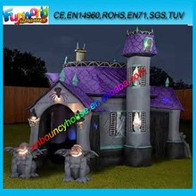 2015 inflatable halloween bounce castle, halloween inflatables price, inflatable haunted bouncing house for sale