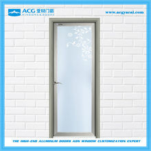 Alibaba China surface treatment for Wooden aluminum residential doors