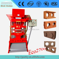 Blocks eco brick making machine Eco premium 2700 interlocking brick machine price