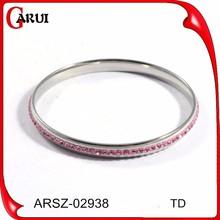 Hot new products for 2015 crystal beads bracelet wholesale slap bracelets teen girl bracelets