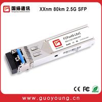 Trade Assurance Professional Manufacturer 2.5G CWDM SFP 1330nm 80km Optical Transceiver