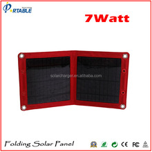 7W the lowest price solar panel for camping and travelling