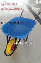 China PU Tyre Construction Wheelbarrow for South America Market WB7404