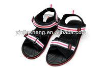 new model pu beach slippers sandal shoes for men