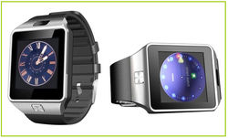 Multi function touch screen smart watch for smartphone