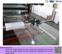 super transparent rigid plastic PET film for food packaging