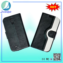 Wholesale new arrival wallet pu leather case for samsung galaxy s4 mini