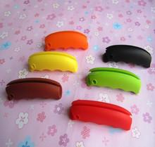 Promotion reusable silicone shopping bag handle shopping bag carrying handle accept customization