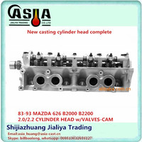 FE/F8 Cylinder Head Assembly F850 10100F/FE70 10100F/FE11-10-100E/FE2K-10-100A/FE4J-10-100A/C for MAZDA