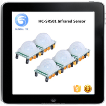 China Wholesale High Quality Human Infrared Sensor Module Pyroelectric Infrared Sensor HC-SR501 for Microcontrollers