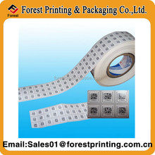 Self Adhesive White Printable Barcode Labels in Roll