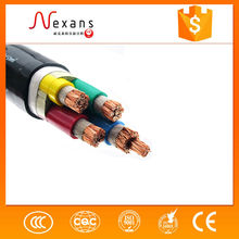 China supplier low voltage flexible copper power cable